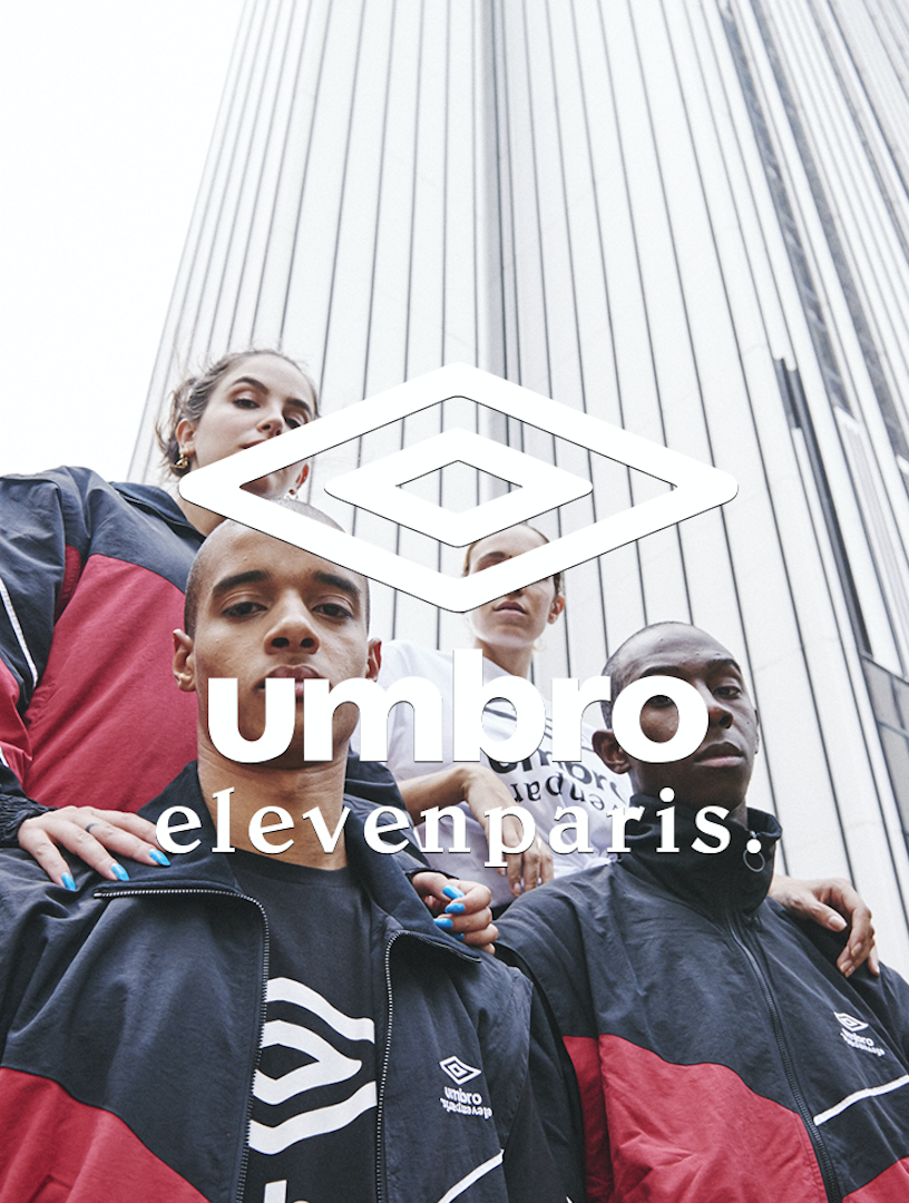 ELEVEN PARIS x UMBRO